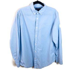 Banana Republic Soft Wash Slim Fit Shirt Sz L